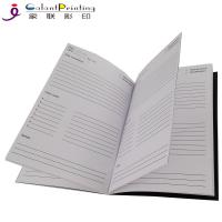 Buy cheap A5 / B5 Custom Planner Printing  Saddle Stitch Softcover Personalized Academic Planner from wholesalers
