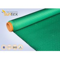 Buy cheap 19oz Fiberglass Cloth Roll Check Board Weaving For Anti Fire Blanket Curtain from wholesalers