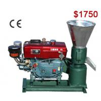 Buy cheap AZSPLM200D Flat Die Pellet Mill Facilitate Wood Pellet Production from wholesalers