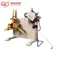 Buy cheap Steel Plate Coil Decoiling And Straightening Machine For Stamping from wholesalers
