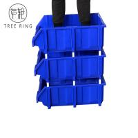 Buy cheap Blue Color Warehouse Plastic Picking Bins With Racking In Industrial Workshop from wholesalers
