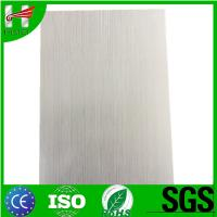 Buy cheap Factory price print brushed film laminated steel sheets from wholesalers