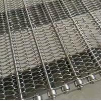 Buy cheap Dehydration Chain Mesh Conveyor Belt Heat Resistant For Transport Customized Width from wholesalers