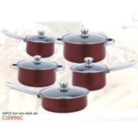 Buy cheap Cast Iron Non-Stick Cookware Set 10PCS from wholesalers