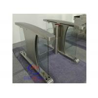 Buy cheap China high speed lane gate rfid swing barrier Half Height Turnstiles for pedestrian input access from wholesalers