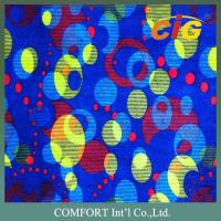 100% Polyester Auto Upholstery Fabric , Printing Automotive Fabric for car seat Manufactures