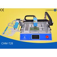 Buy cheap CHMT28 Desktop Led Smd Small Smt Pick And Place Machine With CE Prototyping from wholesalers