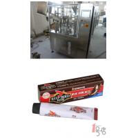 Buy cheap PLC Control 304 Stainless Steel Tube Filling Equipment 30 - 50 Tube / Minute For Shoe Polish from wholesalers