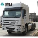 Buy cheap Diesel Tractor Trailer Truck 6X4 10 Wheels Euro2 371HP ZZ4257S3241W from wholesalers