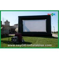 Buy cheap Outdoor Hot Selling 4X3M Oxford Cloth And Projection Cloth  Inflatable Movie Screen For Sale from wholesalers