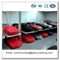 Buy cheap Manual Keys Control Car Elevator Parking Management System Simple Double Parking Car Lift from wholesalers