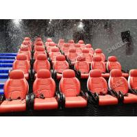 Wholesale Incredible Bubble Machine 5D Theater System Deeply Immersion Luxury Red Motion Seats from china suppliers