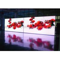 Buy cheap High Definition P2.5 SMD Full Color Indoor LED Video Walls Front Service Magnetic Module LED Advertising Display Screen from wholesalers