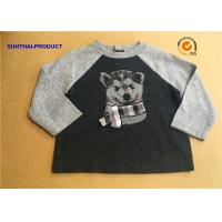 Buy cheap Round Neck Wolf Print Cool Toddler T Shirts , Baby Boy Long Sleeve T Shirt from wholesalers