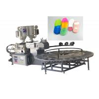 Buy cheap Automatic Single / Double Color Shoe Sole Making Machine Two Density from wholesalers
