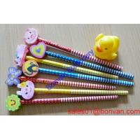 Buy cheap OPP Bag Packing Colorful Surface Wooden HB Pencil/hb pencil with eraser from wholesalers