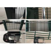 Buy cheap Steel Wire 358 Anti - Cut type High Security Mesh Panel Fence Residential District from wholesalers