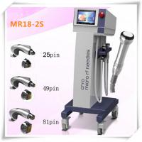 Buy cheap Super Fractional RF MicroNeedle System Skin Care Beauty Machine with two hand pieces from wholesalers