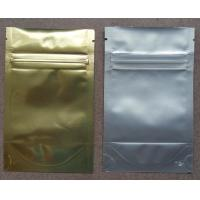 Buy cheap Aluminum Foil Ziplock Bags / Stand Up Packaging Pouches For Seeds from wholesalers