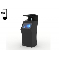 Buy cheap 19 Inch Self Service Station Windows Touchscreen Kiosk Self Checkout Kiosk Stand With Bill Acceptor from wholesalers