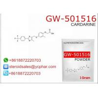 Buy cheap GW-501516 Cardarine SARMS Anabolic Steroids For Losing Weight  317318-70-0 from wholesalers