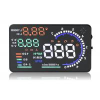 Buy cheap A8 5.5 Inch Hud Head Up Display , Working Voltage 12V Dc Portable Heads Up Display product