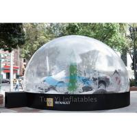 Wholesale Outdoor Giant Bubble Tent Night Car Cover / Inflatable Bubble Dome for Car Show from china suppliers