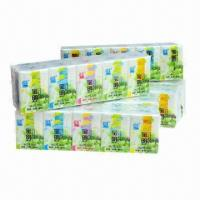 Wholesale Mini Pocket Tissue, Available in White, Measures 21 x 15cm x 3-ply from china suppliers