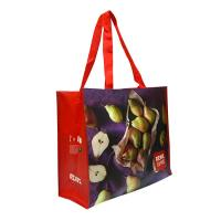 Buy cheap Eco Handmade Non Woven Shopping Tote Laminated Grocery Bags For Women product