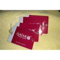 Buy cheap Luggage card,Luggage card supplier,pvc Luggage card ,paper Luggage card product