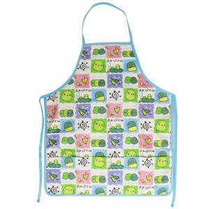 45*60 cm Cute Carton Printed 100% Cotton Bib Aprons Child Kitchen Aprons Manufactures