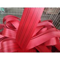 Buy cheap A- A Grade Polyester / Nylon Webbing Sling Material Customized Length from wholesalers