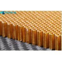 Buy cheap Sound Insulation Aramid Honeycomb Panels Satin Weave Pattern 120 G/M2 from wholesalers