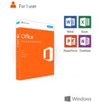 Buy cheap Retail Version Microsoft Office Activation 2016 Home And Student Permanent Key from wholesalers