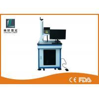 Buy cheap Metal Tube Mini Laser Marking Machine , Air Cooling Plastic Engraving Machine product