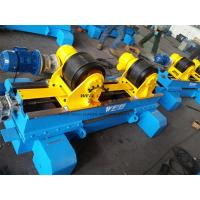 Hydraulic Anti Axial Float Turning Rolls Welding 10 Ton Load Capacity Manufactures