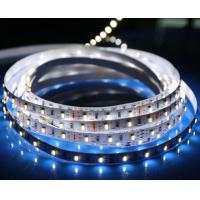 Buy cheap 60leds / m portable two color LED strip light , color changing super bright led strip 12v outside from wholesalers