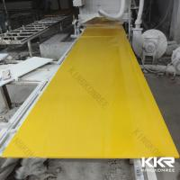 Buy cheap Acrylic Solid Surface Sheet Artificial Stone Big Slab from wholesalers