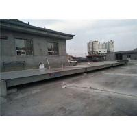 Buy cheap Anti Corrosion Painting Movable Weighbridge Shot Blasting Clean All Dirty Before Painting from wholesalers