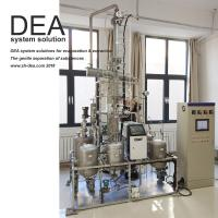 Buy cheap SS 304 Industrial Distillation Column Simple Extractive Fractional Distillation Tower from wholesalers