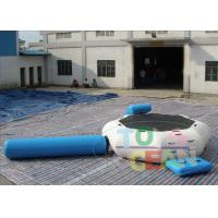 Buy cheap Commercial Inflatable Outdoor Games For Kids / Water Trampoline Combo Game from wholesalers