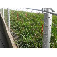 Buy cheap 316 Stainless Steel Balustrade Wire Mesh Ferrule Type Size Customized from wholesalers