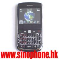 Buy cheap Quad band phone with dual sim card Curve Facebook works smoothly 256MB+64MB memory 9630 from wholesalers