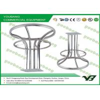 Buy cheap Mobile Round clothing racks / Metal Garment Rack With 4 Sides Display from wholesalers