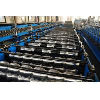 Buy cheap Automatical Metal  Corrugated Sheet Roof Panel Roll Forming Machine 0.3mm - 0.8mm from wholesalers