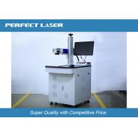 Buy cheap High Speed Fiber Laser Marking Machine For Transparent Glass / Acrylic Materials , 60 Watt from wholesalers