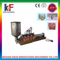 China reasonable cost stand up liquid packing bags machine made in china on sale