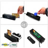 Buy cheap MCR160 USB 4-IN- 1 Credit Card Reader EMV/IC Chip/ Magnetic/ RFID/ PSAM Card from wholesalers