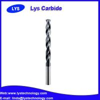 Buy cheap 3 Flute High Speed Solid Carbide Square 45 Helix cnc machines drill bits from wholesalers