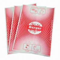 Buy cheap Hamburger/Sandwich Wrapping Papers with Bright Color Printing product